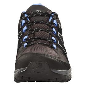 Salomon W's Ellipse 2 GTX Shoes Asphalt/Black/Petunia Blue